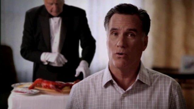Mitt Romney sketch