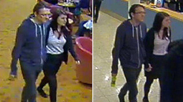 CCTV images released by Sussex Police