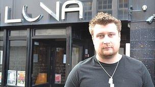 Fusion Nightclub and Luna Bar owner Adam Burroughs