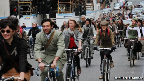 Glasgow Harris Tweed Ride