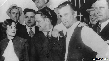 John Dillinger and friends
