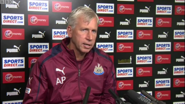 Newcastle boss Alan Pardew