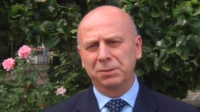 British Ambassador to Nepal, John Tucknott