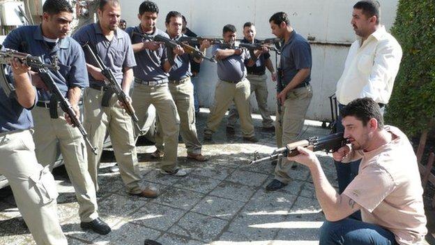 Al Hurea Security Services (PSC 51)