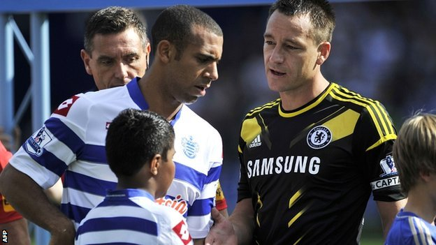 Anton Ferdinand and John Terry