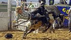 A South African rodeo cowboy - Saturday 22 September 2012
