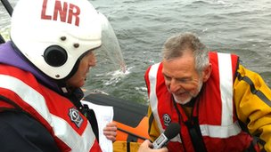 Billy Mullen from the Lough Neagh Rescue Service