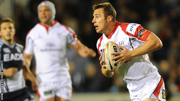 Tommy Bowe scored two tries in Ulster's win
