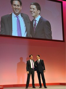 Ed and David Miliband