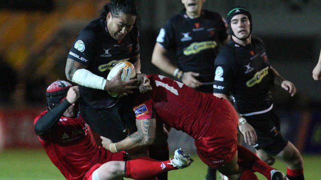 Dragons 32-12 Edinburgh
