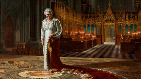 Ralph Heimans portrait of the Queen