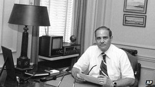 July 20, 1977 photo shows New York Times publisher Arthur Ochs Sulzberger