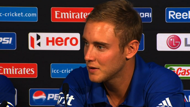 England Twenty20 captain Stuart Broad
