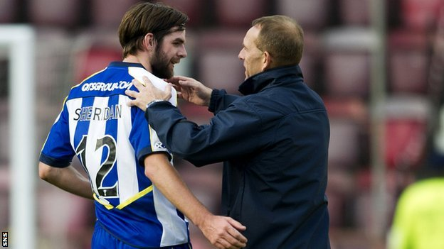 Cillian Sheridan and Kenny Shiels