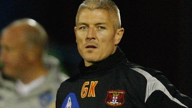 Carlisle assistant boss Graham Kavanagh