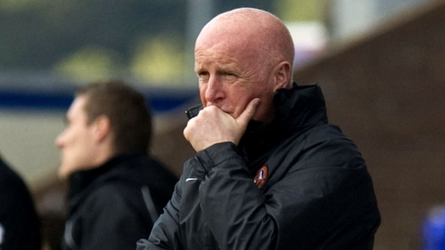 Dundee Utd boss Peter Houston