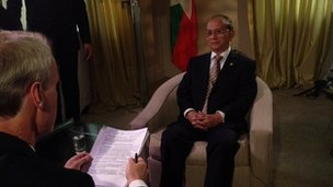 Thein Sein's HardTalk interview with Stephen Sackur