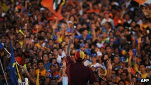 Opposition rally in Barinas state - 24 September