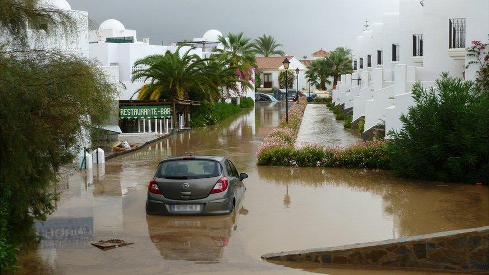 Vera Spain  city photos : ... residential area in Vera Playa, southern Spain. Photo: Mark Oldfield