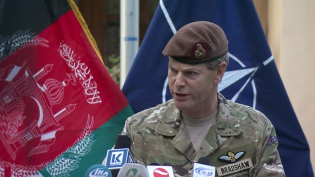 Deputy Nato commander in Afghanistan, Lt Gen Bradshaw