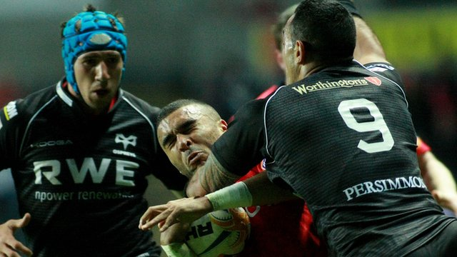 Ospreys 30-15 Munster