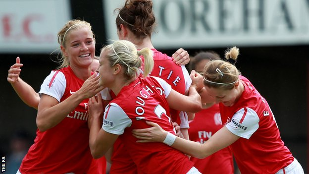 Arsenal have won their second straight Women&#039;s Super League title