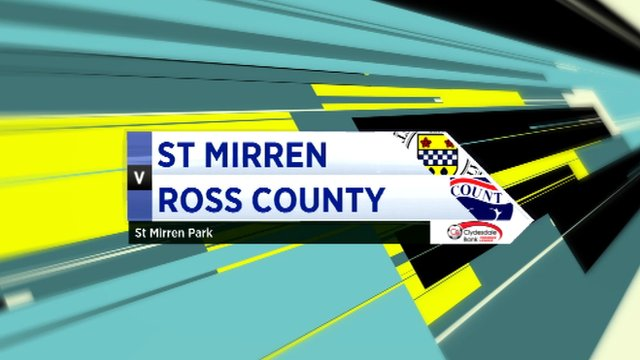 Highlights- St Mirren 5-4 Ross County