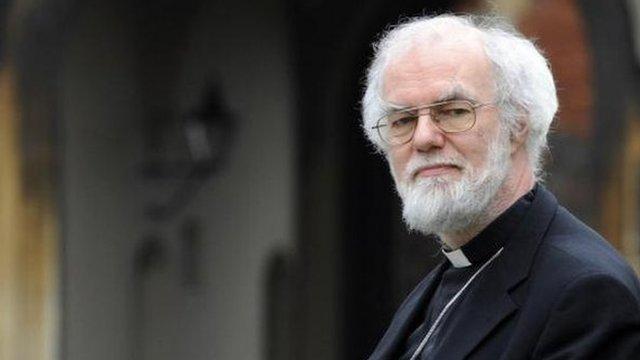 Archbishop of Canterbury, Dr Rowan Williams