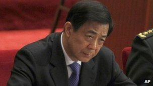 Bo Xilai, file pic from March 2012