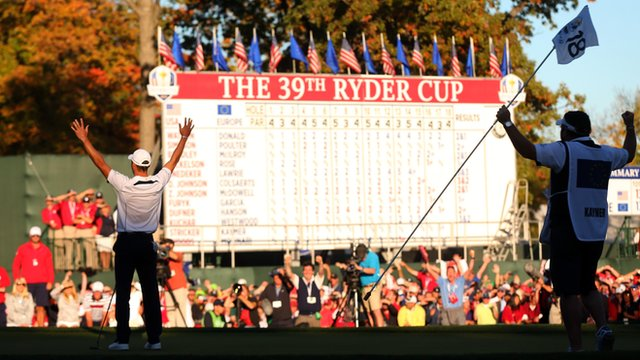 Europe win Ryder Cup
