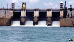 The Kabini Dam on the Cauvery river is about 165km south-west of Bangalore.