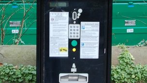 Ticket machine - generic image