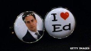 Ed Miliband cufflinks