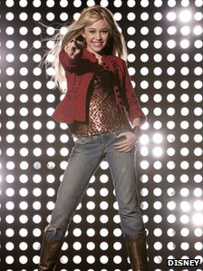 Hanna Montana - portrayed by Miley Cyrus