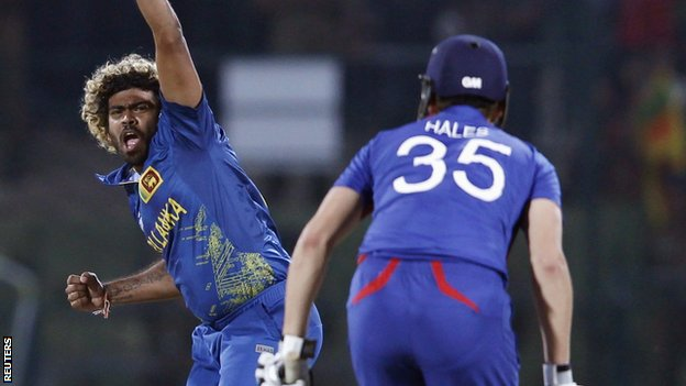 Lasith Malinga dismisses Alex Hales
