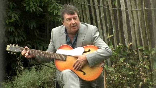 Stuart Maconie at Forthlin Road