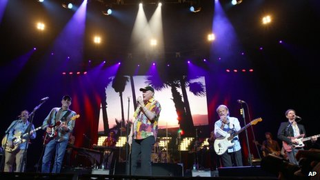 Beach Boys in concert in 2012