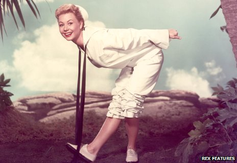 Mitzi Gaynor in the film South Pacific
