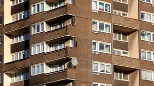 Social housing in south-east London