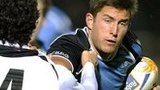 Glasgow winger DTH van der Merwe (right) has a hamstring injury