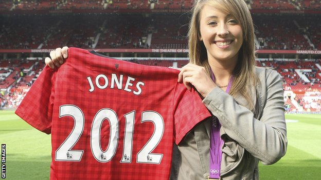 Jade Jones at Old Trafford