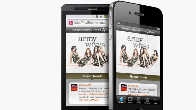 Army Wives companion app