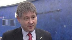Basil McCrea said he was curious to know what the problem was