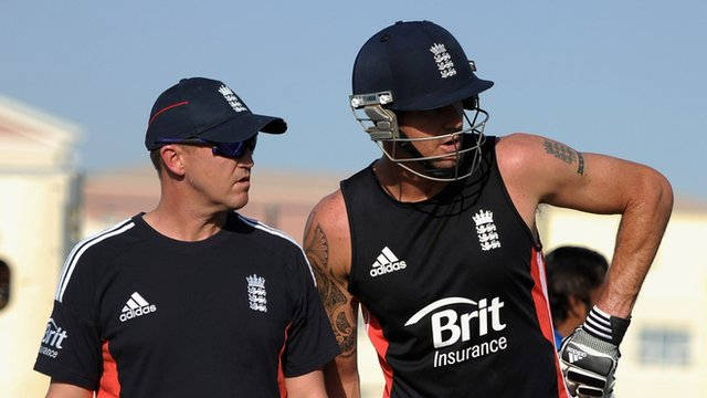 Andy Flower & Kevin Pietersen