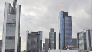 Frankfurt buildings