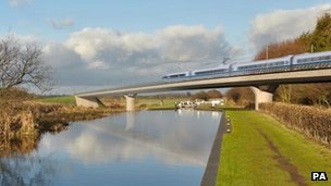 High speed rail proposal