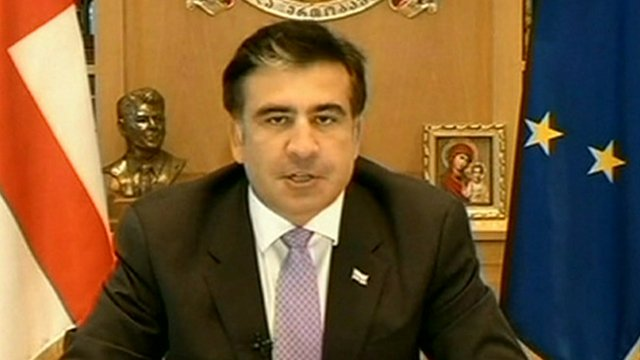 President Mikheil Saakashvili