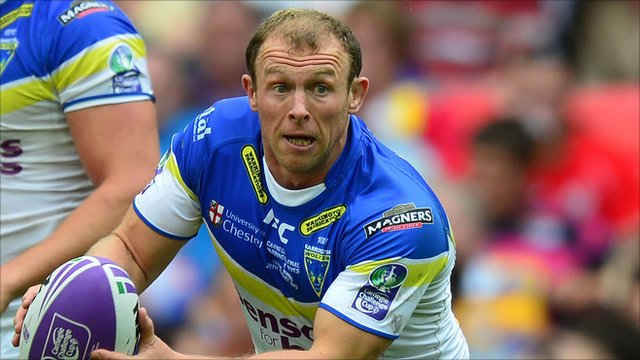 Warrington Wolves hooker Micky Higham