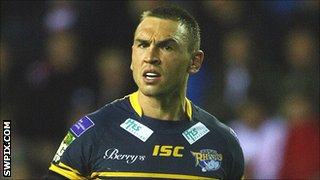 Leeds Rhinos captain Kevin Sinfield