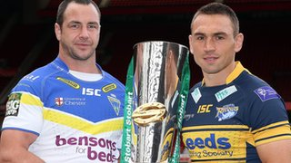 Adrian Morley and Kevin Sinfield
